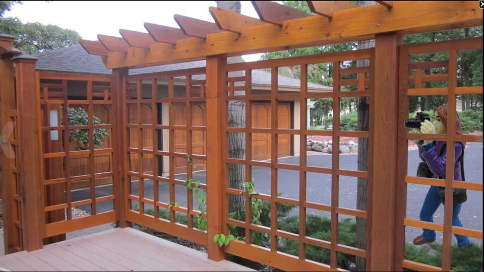 Custom Wood Fence Panels #19 in Minneapolis, MN