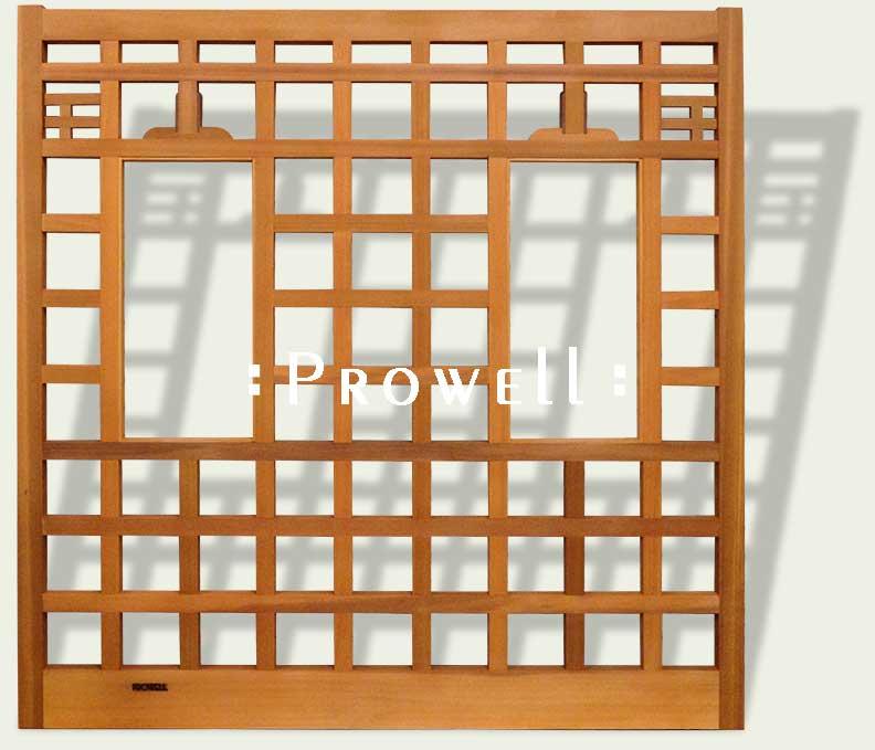 Custom wood fence panel #19-5