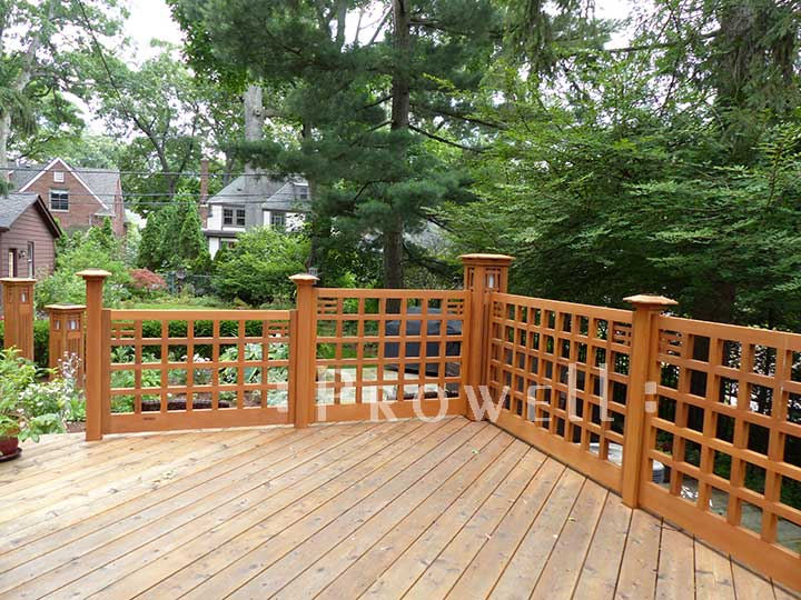 Wood Fence Panels in Michigan