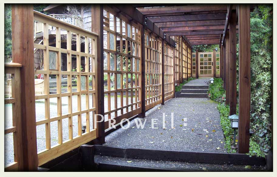 wood fence style 19. prowell