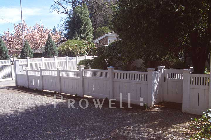 custom wooden fence panels #1-14 in Ross, CA