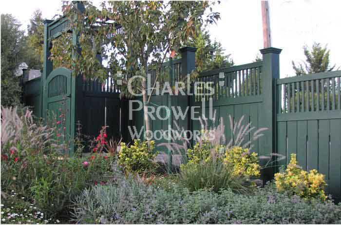 Custom Wood Fence Panel #1-15 in Petaluma, CA