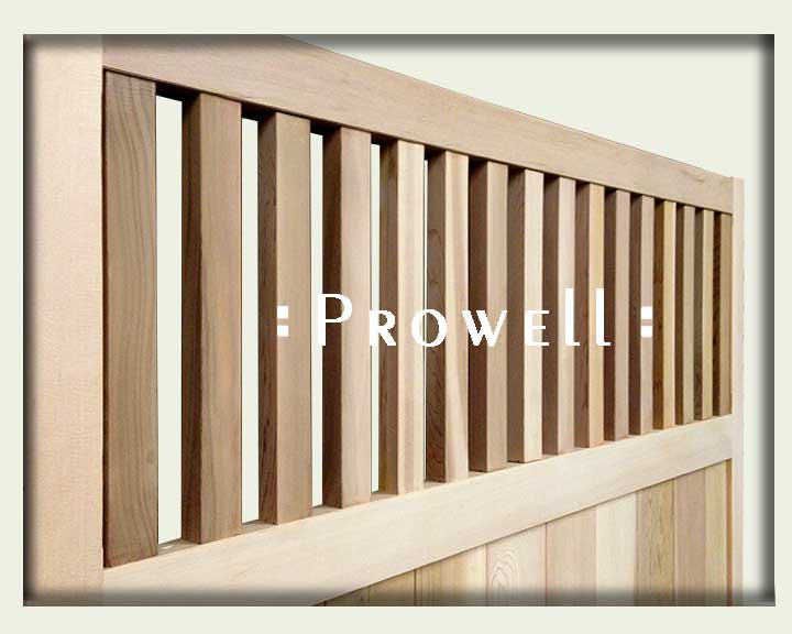 wood fence panel joinery by prowell