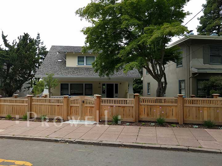 Custom Wood Fence Panels #1-18 in the Berkeley and Oakland Area