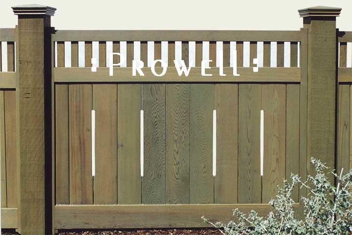wood fencing Panels in santa rosa, ca