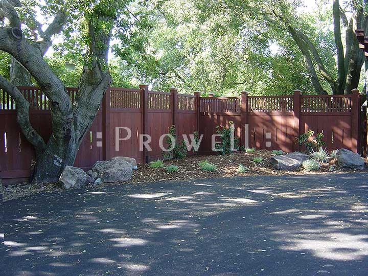 custom Fence panels #1-6 in thre San Francisco Bay Area