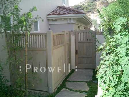 wooden fence panels #1-7 in Burbank, CA