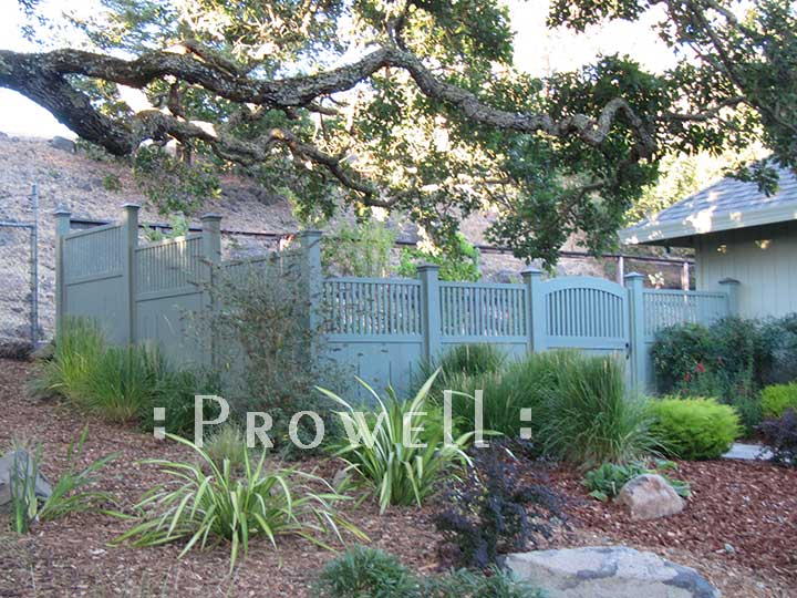 custom fence panels in sonoma county