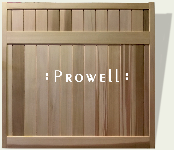 custom wood privacy fence panels #20 by Prowell