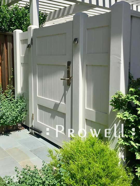Solid wood privacy fence #20. Prowell