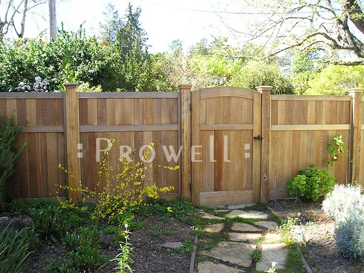custom wood fence panels for privacy in California