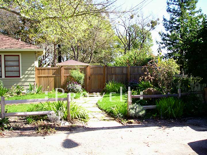 Custom wood privacy fence panels #20 in Sonoma County, CA
