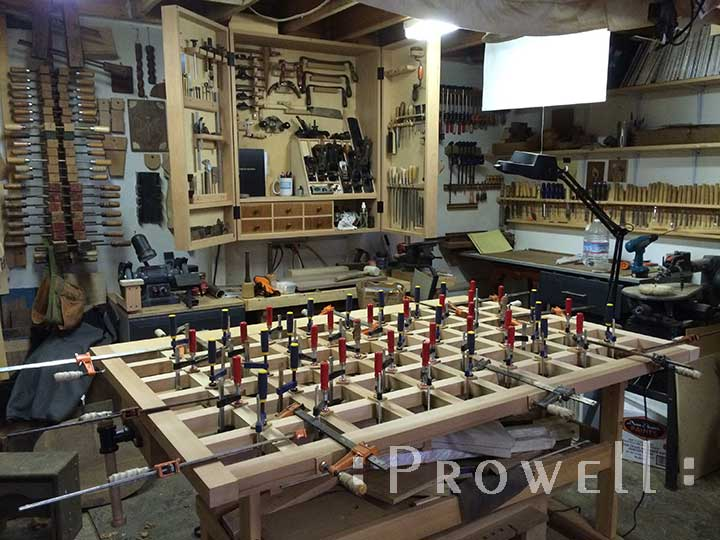 how do I build a Prowell wood fence?