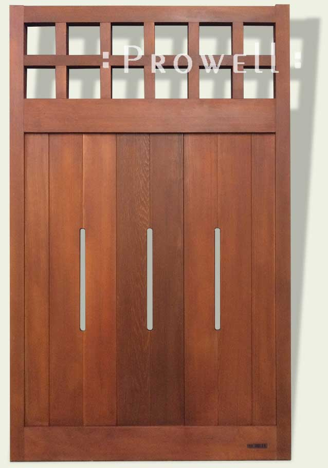 wood garden fence panel #22
