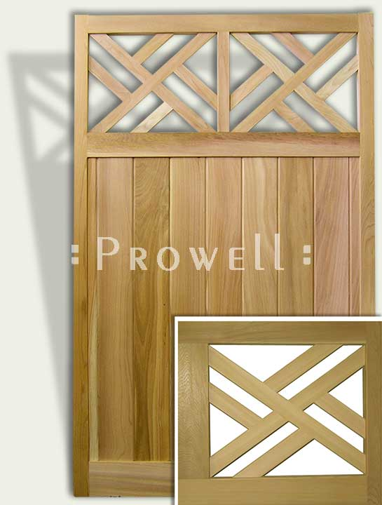 colonial wood fence design #23