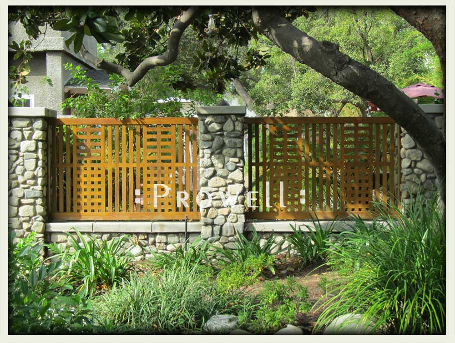 garden fence wood 24. prowell