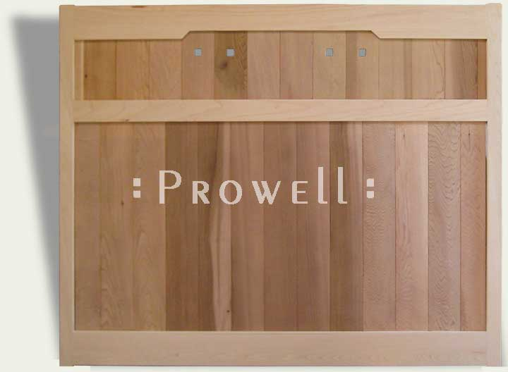 Custom wood privacy fence panels #26