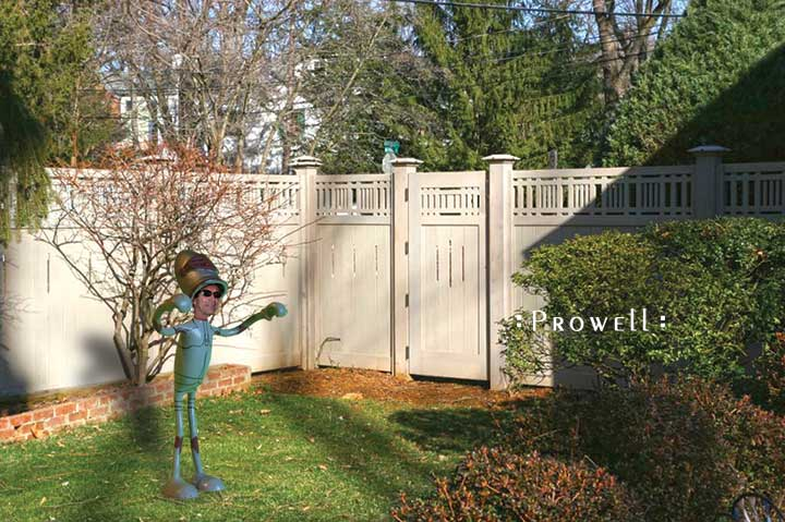 site photo showing gate wooden 68 in Bethesda, Maryland