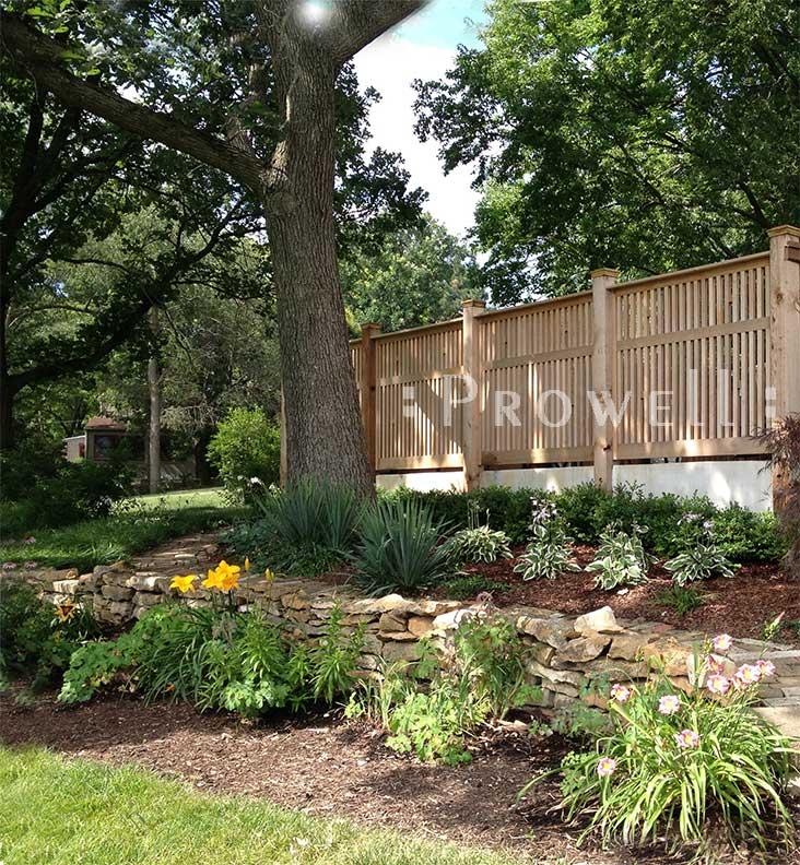 custom wood picket fence panels in Kansas