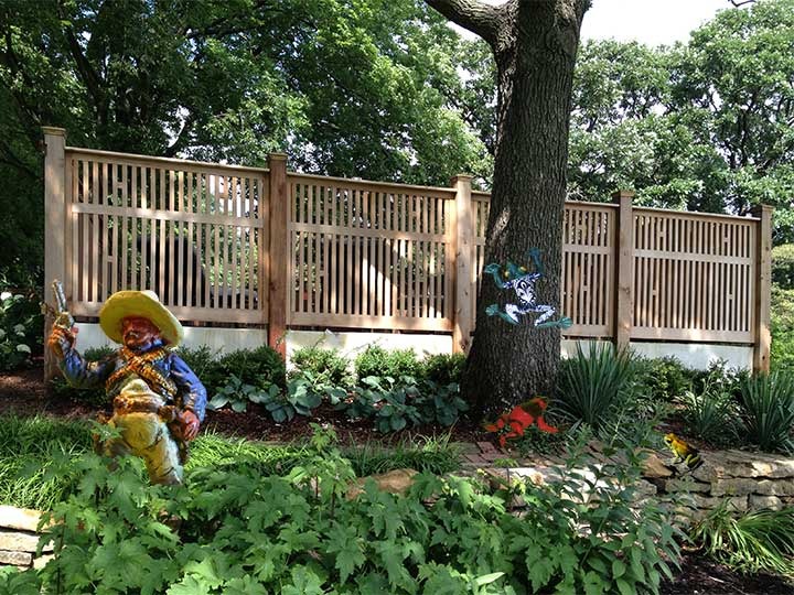 wood fence panels #2 in Lawrence, Kansas