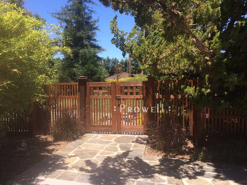 craftsman wood fence panel #2-6 in Silicone Valley