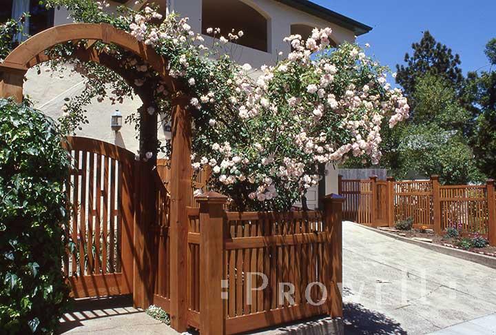 Wood Fence Panels in San Anselmo, CA