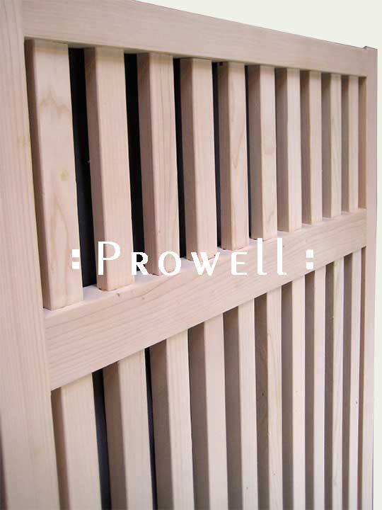 wood garden fence panels