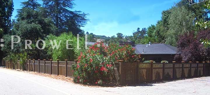 custom wood fence panels #2 in San Francisco Bay Area