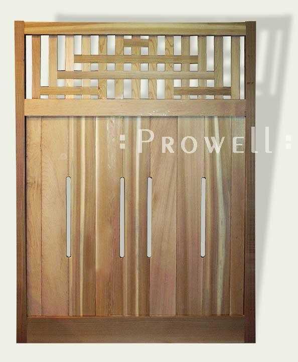 Wood fence panels #31
