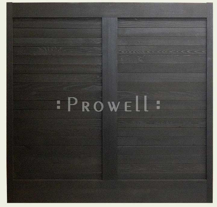 custm wood fence panel #39 by Prowell
