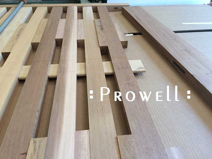 building a joined horizontal fence. Prowell