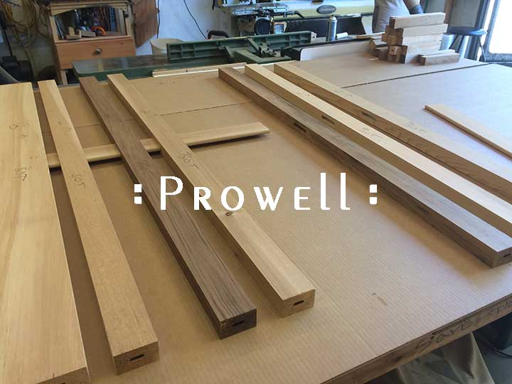 Through tenons for perfect fence boards. Prowell