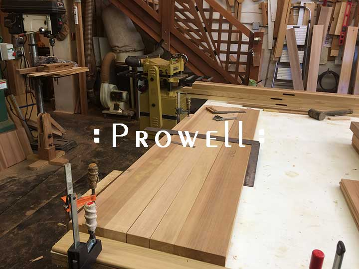 mortising horizontal fence boards. prowell