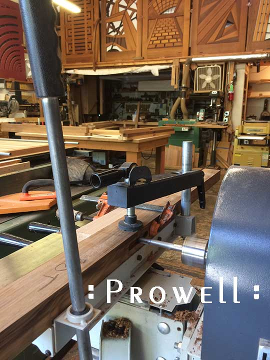 mortising with a horizontal machine. prowell