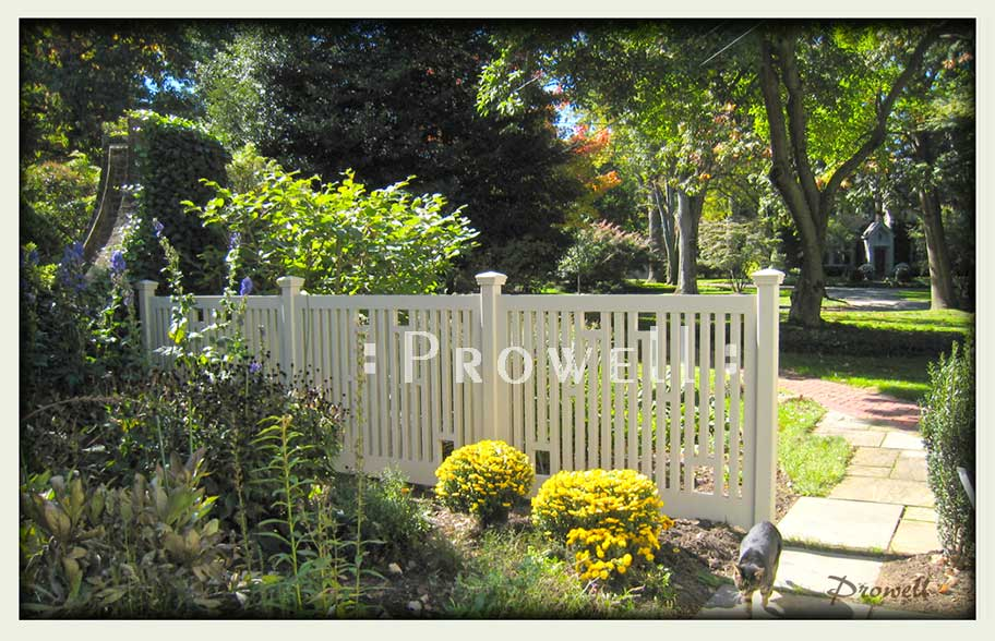 wood garden fence 6. prowell