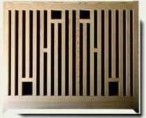 custom wood fence Panels #6