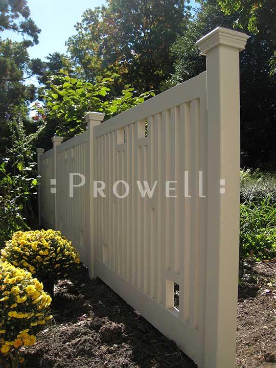 wood Garden Fence Panels #6
