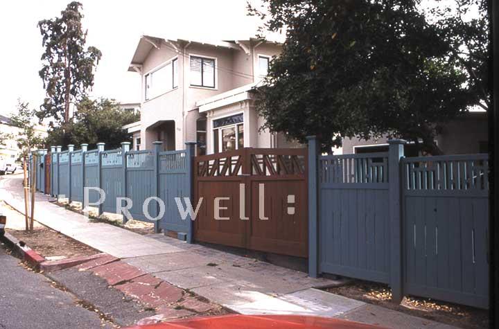 custom wood Fence Panels #9 in Oakland, CA