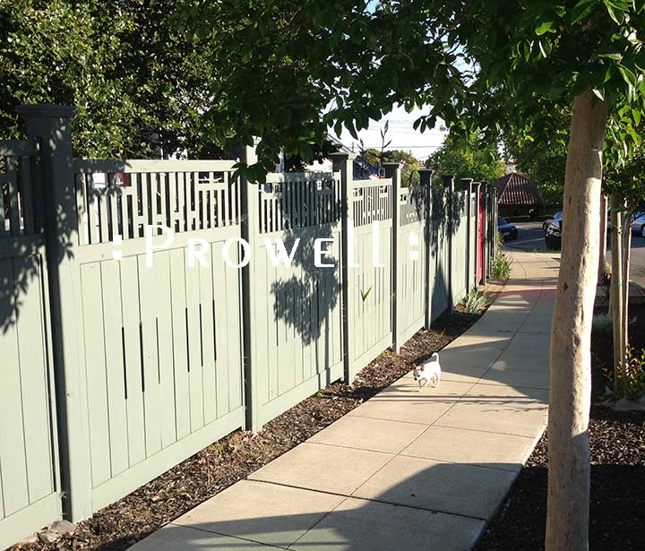 wood fence panels in San Francisco Bay Area