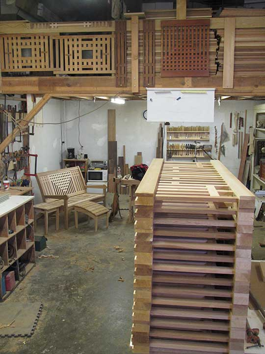 building a custom wood fence panel by Prowell