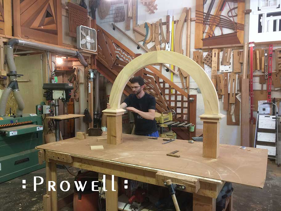 building an arched arbor, prowell