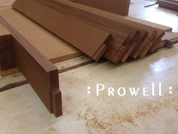 joining wood arbor pieces, prowell