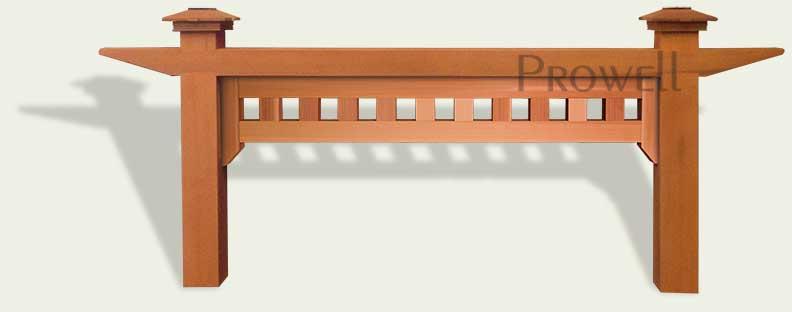 custom wood arbor 1-5. Prowell