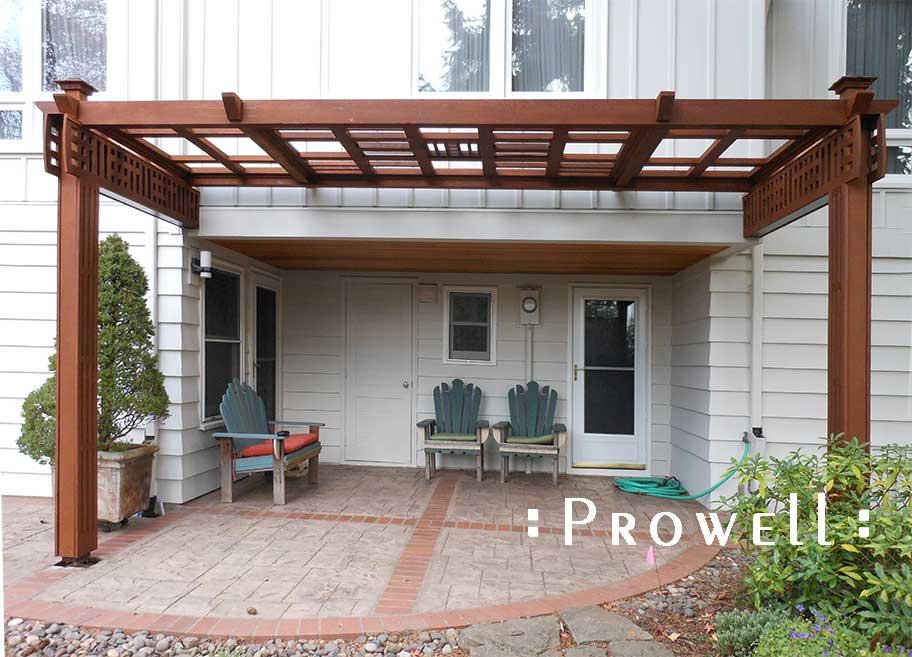 wood garden arbpr #23 on Portland, Oregon. prowell