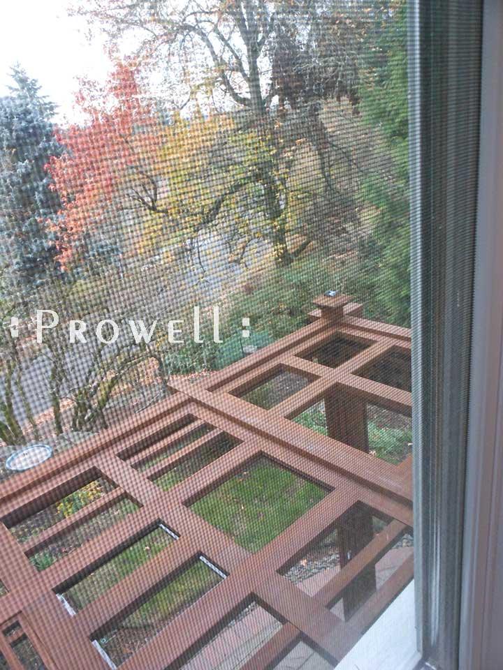 custom wood garden arbor pergola #23 from Prowell