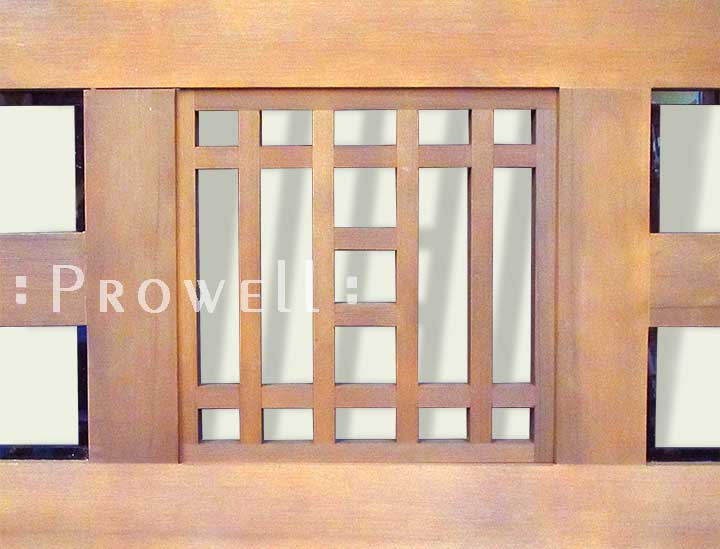 Prowell complex joinery for arbor #23