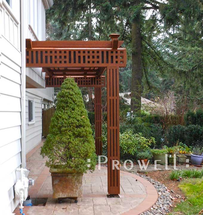 wood garden arbor trellis #23 by Prowell