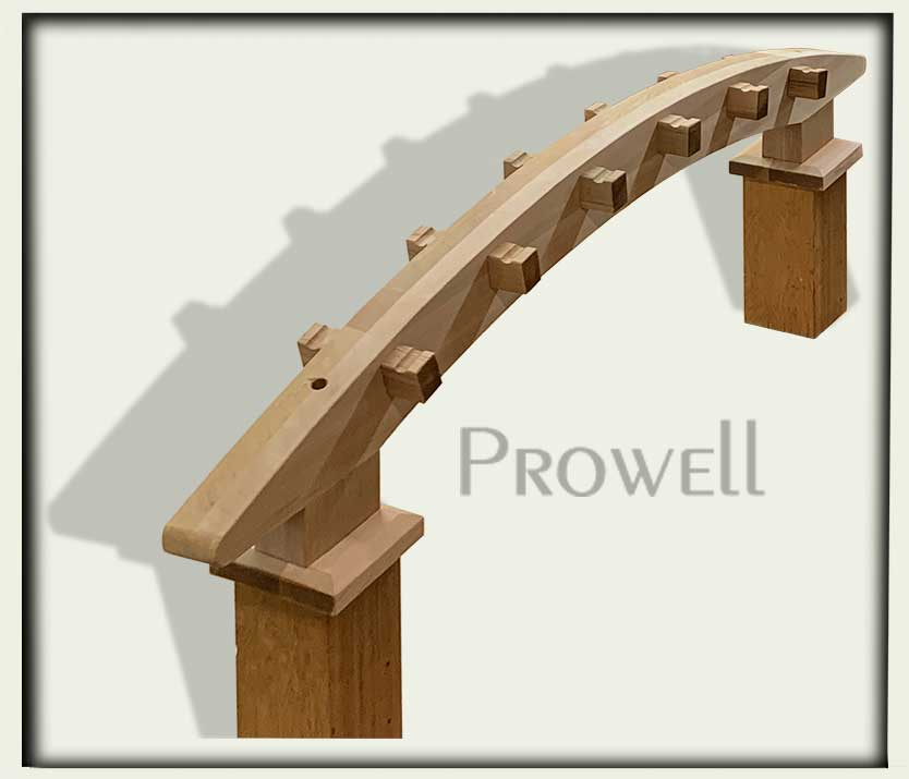 custom wood garden arbor #8-4. prowell