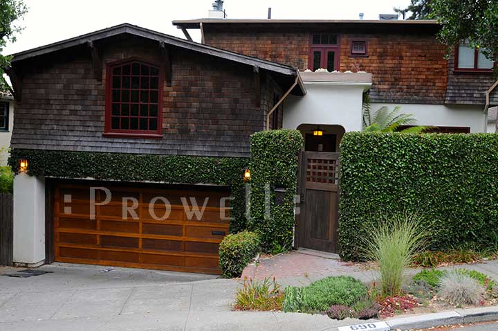 site photograph showing the wood fencing gate #103-2 in Berkeley, CA