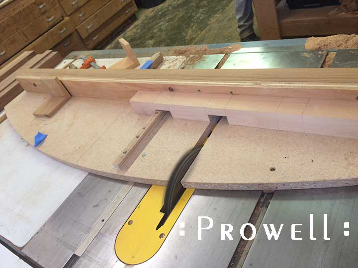 shop photograph sowing how to create half-lap joints for outdoor gate #103